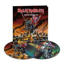 2LP IRON MAIDEN MAIDEN ENGLAND 88 VINYL  PICTURE DISC HEAVY METAL