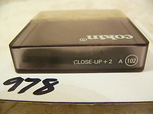 Cokin A Series Close Up +2 A102 Filter vgc