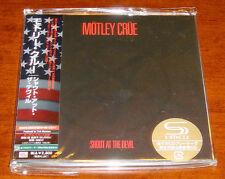 Japan SS MINI-LP SHM-CD Motley Crue-Shout At The Devil +5 LTD OOP UICY-93491