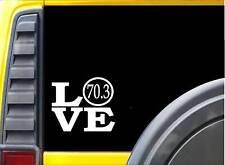 70.3 Sticker Triathlon 6 inch Decal Sticker