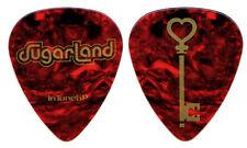 SUGARLAND Guitar Pick : 2009 Tour - tortoise gold heart key picks InTuneGP
