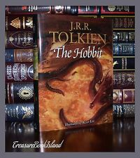Hobbit by JRR Tolkien Illustrated Alan Lee Lord of Rings New Large Collectible
