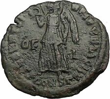 VALENTINIAN I 364AD OF/I RARE Ancient Roman Coin Nike Victory Angel    i32834