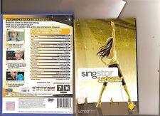 SINGSTAR LEGENDS PLAYSTATION 2 PS2 RARA PS 2 KARAOKE