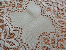 HERITAGE LACE PEAR/SAGE BATTENBURG DOILY 11 INCHES BEAUTIFUL ITEM 3094