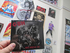 Charged G.B.H. Dover Showplace 1983 CD Punk/Hard Core Give me Fire Generals