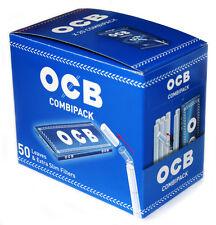 20 x OCB COMBIPACK : 1000 sheets OCB Rolling paper+ 1000 extra Slim filter Tips