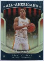 2019 Prizm Draft Picks All-Americans Grant Williams Silver RC #22 Tennessee Vols