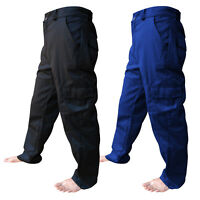 "Cargo Work Wear Trousers Pants Combat Cargo Waist 28"" to 62"" With 5 Leg Lengths"