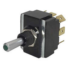 CARLING TECHNOLOGIES Toggle Switch,DPDT,20A @ 12V,QuikConnct, LT2561-603-012