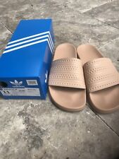 NEW - ADIDAS Adilette Womens Sandal - Size 11, Color Blush Pink
