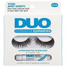 Duo Pestañas D12 Profesional Pelo Europea esterilizada Adhesivo & Lash Kit