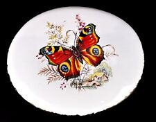 Monarch Butterfly Ceramic Wall Plaque Decor Hanging Country Farmhouse