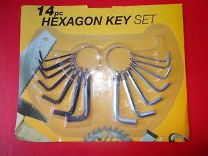 14 PIECE HEXAGON KEY SET