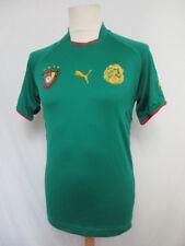 CAMERÚN jersey de fútbol vintage Puma Verde  Talla S