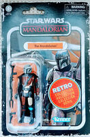 Star Wars The Mandalorian Action Figure 3.75 Scale Retro Collection In Stock