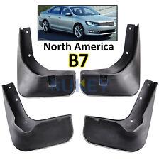 FRONT REAR FOR VW PASSAT B7 2012 2013 2014 2015 MUD FLAPS SPLASH GUARDS MUDGUARD
