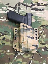 Multicam Kydex Holster for Glock 34 GEN5 Surefire X300 Ultra B Model