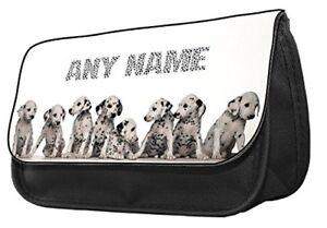 Personalize Pencil Case-Dalmatians,pencil case..make up case,back to school.