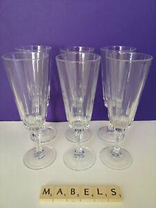LUMINARC ~LANCE~ flutes champagne cava prosecco glasses x 6