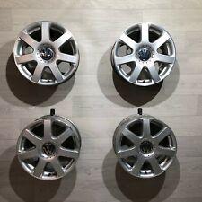 4x VW Golf IV orig. Alufelgen 6.5x16 ET42 5x100 Brands Hatch 1J0601025AE Bora