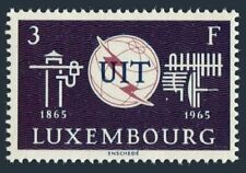 Luxembourg 431 block/4,MNH.Michel 714. ITU-100,1965.Communication equipment.