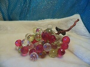 LARGE BUNCH OF FACETED BEAD GRAPES (2G25)