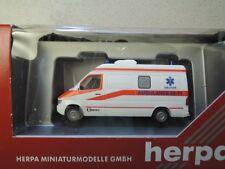 Herpa 043380 RTW MB Sprinter Ambulance Druten in OVP aus Sammlung (6)