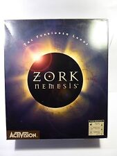 ZORK NEMESIS THE FORBIDDEN LANDS BIG BOX PC CD-ROM GAME WINDOWS 95 BY ACTIVISION