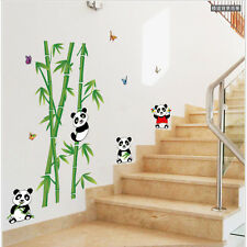 DIY Cute Panda Bamboo Mural Vinyl Wall Sticker Removable Nursery Room Decor