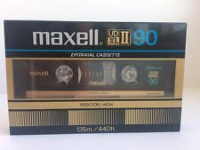 Maxell UD XL II 90 Blank Audio Cassette audio New RARE 1982 Year Japan made