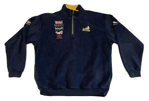 Team New Zealand America`s CUP 2000 Rugby Union Fleece Jacket Line7 Size XL NLV