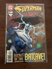 Superman Issue 126 Secret of the Batcave Comic DC Comics Aug 1997 FREE bag/board