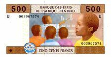 Central African States … P-206U … 500 Francs … 2002 … *UNC*.