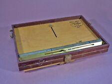 12x16 portable paint box easel, en plein air, open box M, field easel