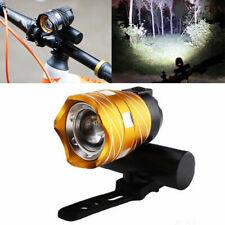 Rechargeable Bicycle HeadLight Bike Helmet Front light 15000LM XM-L T6 LED MTB S