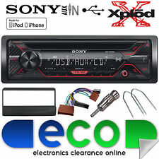 Ford Escort 95-00 Sony CDX-G1200U CD MP3 USB Aux In Iphone Car Radio Stereo Kit