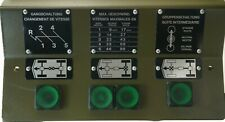 Cover Plate with Control Lights  Locker  4x4      Steyr Puch Pinzgauer
