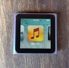 Apple iPod Nano 6G / 6. Generation 16GB Blau - Wie Neu