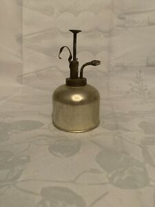 "Vintage Brass Atomizer Plant Water Mister 6"" Hong Kong"