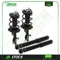 For 06-08 Toyota Rav4 Sport V6 3.5L Front Complete Struts & Rear Shock Absorbers