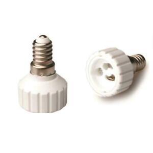 E14 à GU10  Ampoule Base Convertisseur Adaptateur Douille Extender LED Titulaire