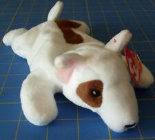 1998 Ty Original Beanie Babies Butch The Bull Terrier Dog w/Tag