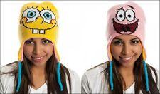 Berretta Spongebob Squarepants & Patrick Reversible Laplander Beanie Nickelodeon