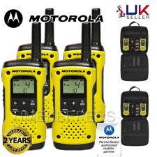 10Km Motorola TLKR T92 Floating Walkie Talkie 2 Way PMR 446 Security Radio Quad