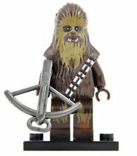 Figurine Star Wars 4,5cm bloc construction : Chewbacca