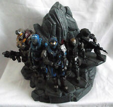 HALO REACH NOBLE TEAM STATUE DIORAMA / FROM LEGENDARY EDITION / NO BOX OR GAME