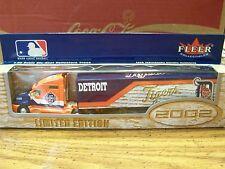MLB, 2002 DETROIT Tigers, KENWORTH 1:80 SCALE, FLEER COLLECTIBLES