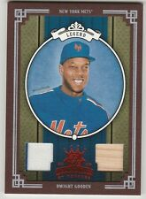 2005 DIAMOND KINGS DONRUSS DWIGHT GOODEN 430GAME-WORN USED RED FRAME CARD 60/200