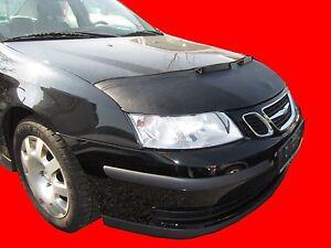 CAR HOOD BONNET BRA fit SAAB 9-3 2003 - 2007  NOSE FRONT END MASK TUNING